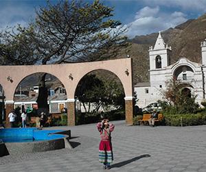 Plaza de Chivay