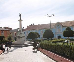Puno - Parque Pino
